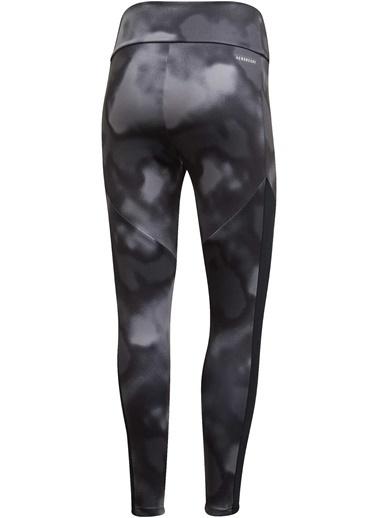 adidas Adidas Kadın Koşu - Yürüyüş Tayt W D2M Aop 78 Tı Gd4652 Siyah